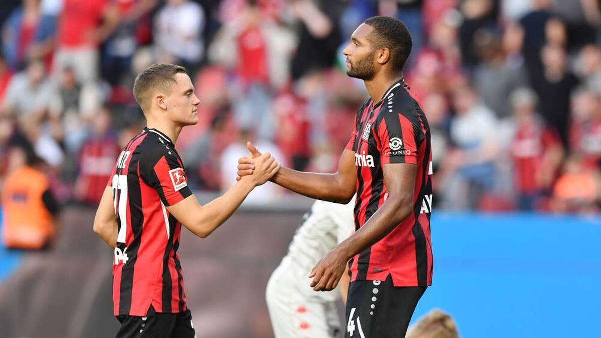 Leverkusen verlängert mit Leistungsträger
