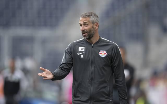 Marco Rose ist derzeit Trainer von RB Salzburg