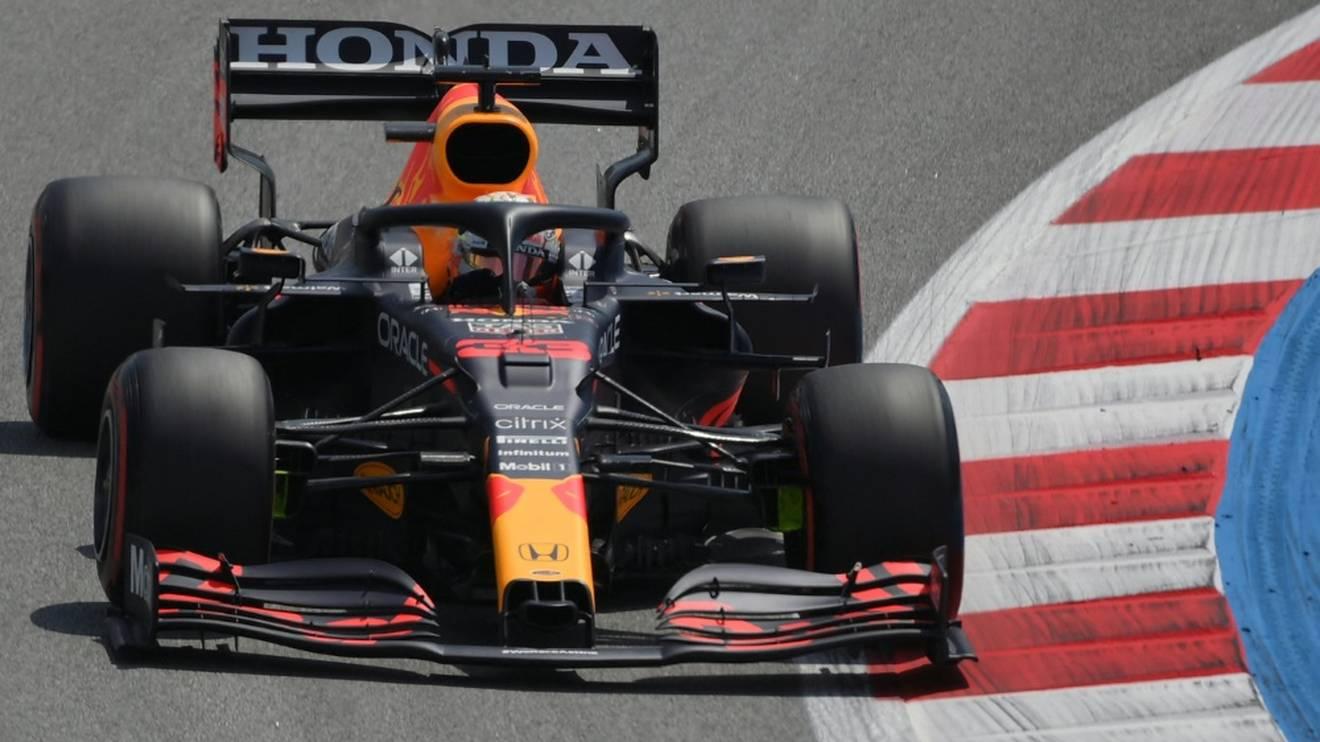 Max Verstappen beendet als Bester das dritte Training