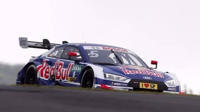 Mattias Ekström hätte am Nürburgring etwas mehr Glück gebrauchen können