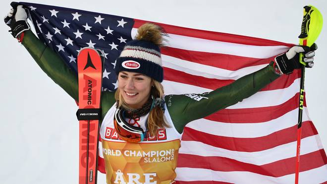 Mikaela Shiffrin hat zum dritten Mal den Gesamtweltcup gewonnen