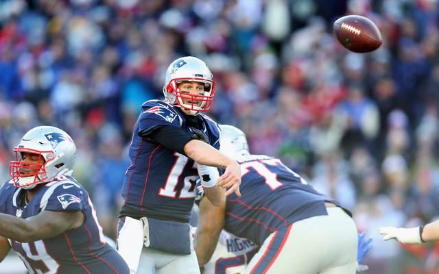 Tom Brady gewann mit den New England Patriots schon fünf Mal den Super Bowl