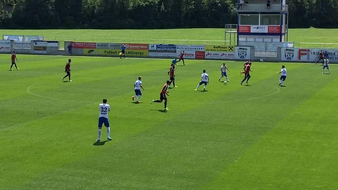 Testspiel zwischen SV Grödig und FC Ingolstadt