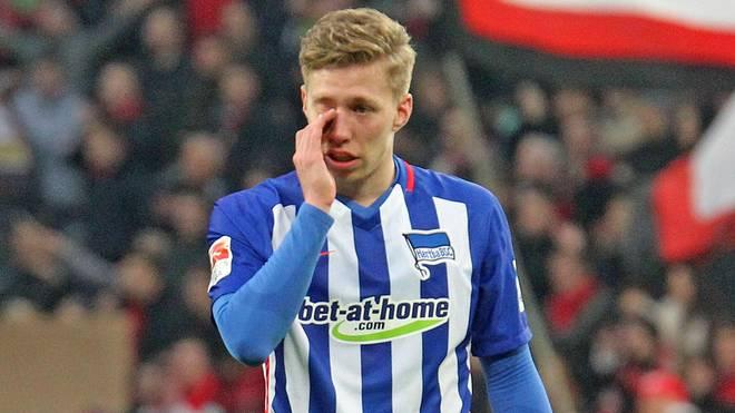 Mitchell Weiser weinte nach der Niederlage gegen Leverkusen bittere Tränen