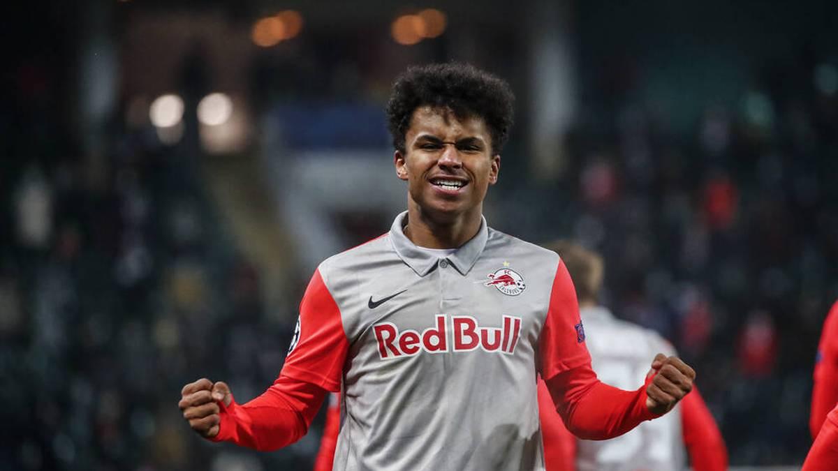 Karim Adeyemi spielt bei RB Salzburg eine starke Saison