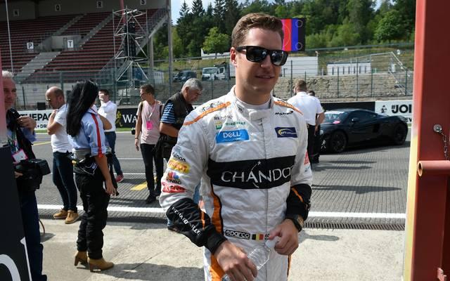 Stoffel Vandoorne fährt in dieser Saison noch in der Formel 1 für McLaren