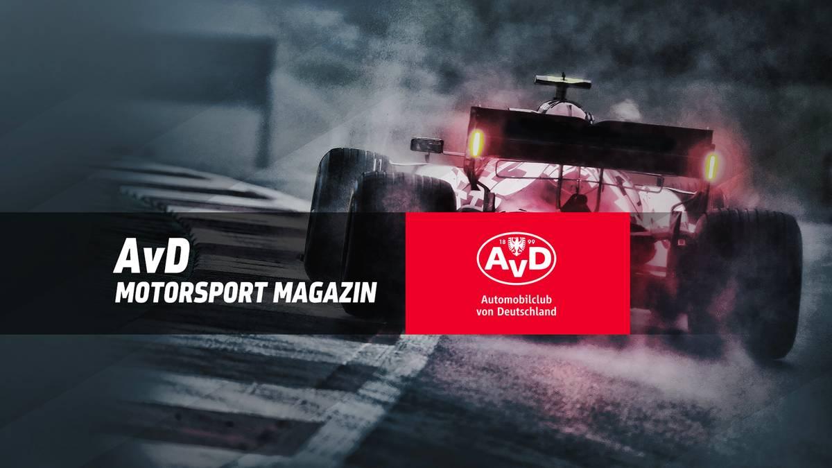 Der AvD und SPORT1 präsentieren das Format AvD Motor & Sport Magazin