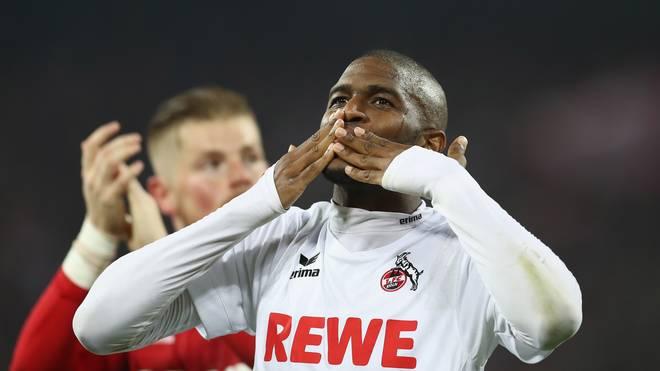 1. FC Köln: Anthony Modeste erhält Spielgenehmigung von der FIFA, Anthony Modeste darf ab sofort das Trikot des 1. FC Köln überstreifen