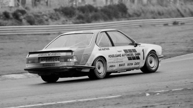 So hat alles begonnen: Harald Grohs bei der DTM-Premiere 1984 in Zolder