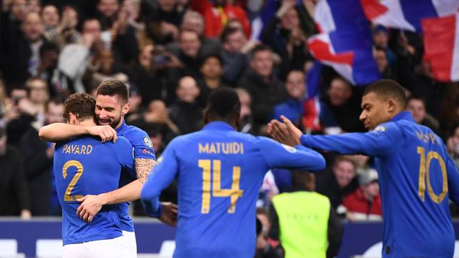 Die französischen Weltmeister feierten in der EM-Quali einen souveränen Sieg gegen Island