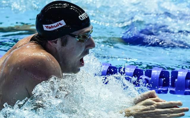 Marco Koch war 2015 Weltmeister über 200 Meter Brust