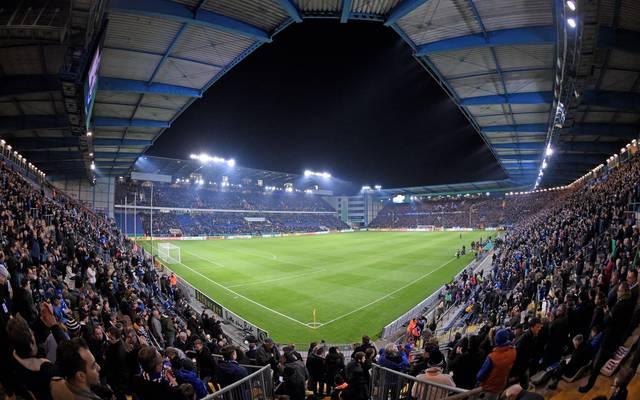 Das Stadion von Arminia Bielefeld