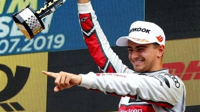 Auch beim zweiten Rennen in Assen jubelte Nico Müller auf dem Podest