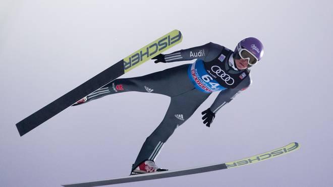 Andreas Wellinger beendete die Vierschanzentournee 2017/18 als Zweiter