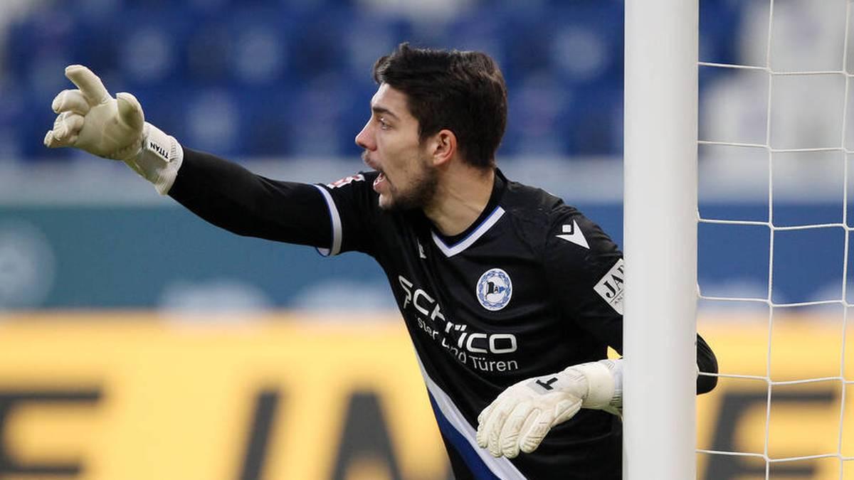 Bielefeld-Keeper Stefan Ortega machte gegen VfB mit einer Wahnsinns-Parade auf sich aufmerksa