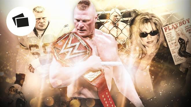 Brock Lesnar ist seit 2006 verheiratet mit seiner früheren WWE-Kollegin Sable