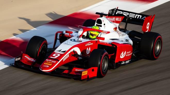 Mick Schumacher, Formel 2, Spanien
