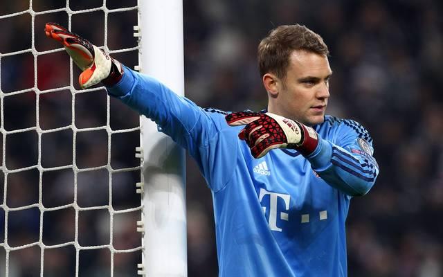 Bayern-Keeper Manuel Neuer fällt derzeit mit einem Mittelfußbruch aus