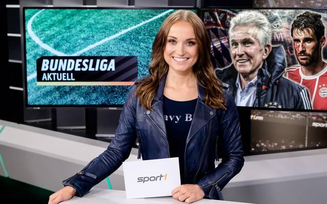 Nele Schenker führt durch Bundesliga Aktuell