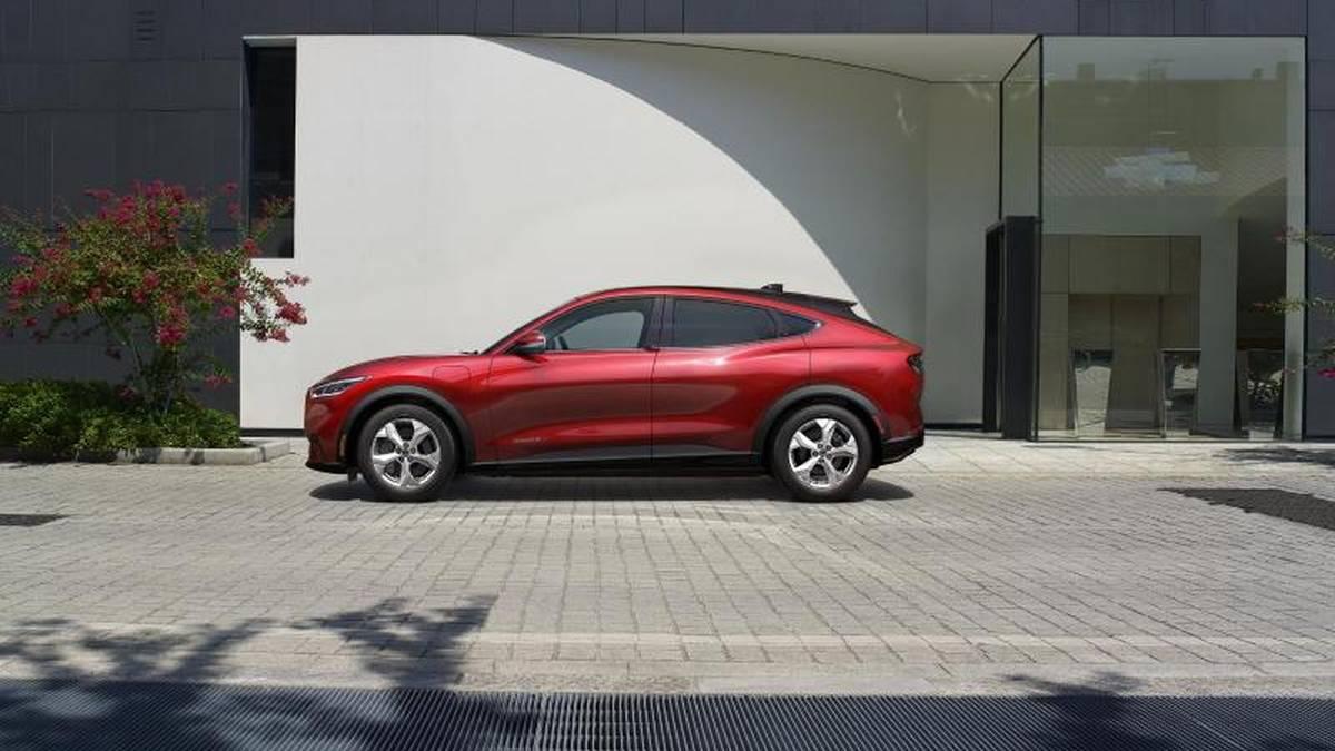 Der Ford Mustang Mach E ist ein vollelektrisches SUV