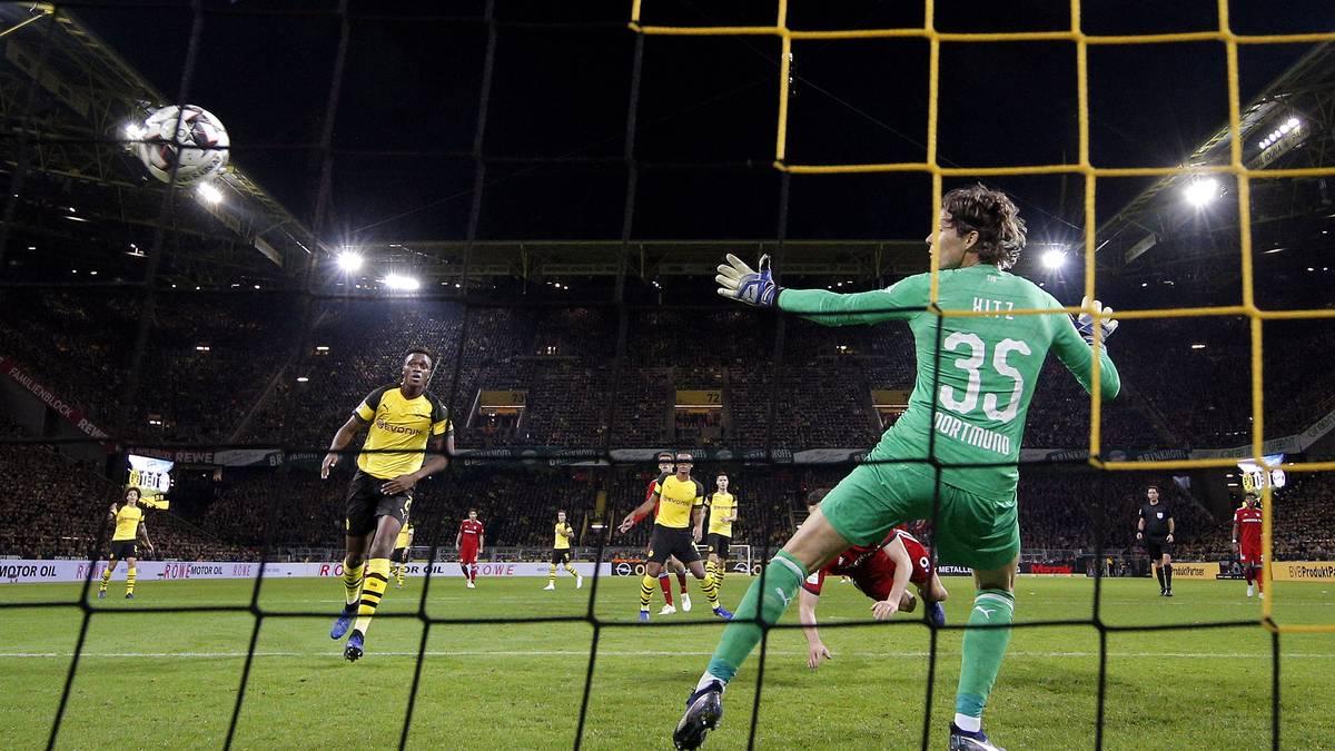 Marwin Hitz vom BVB gegen FC Bayern