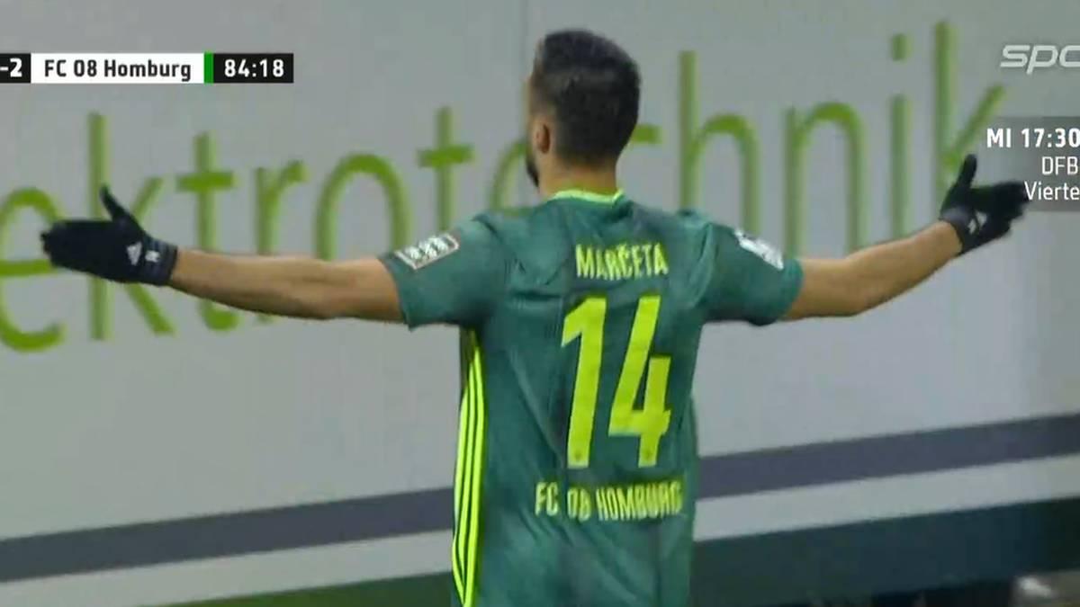 Damjan Marceta erzielte zwei Tore