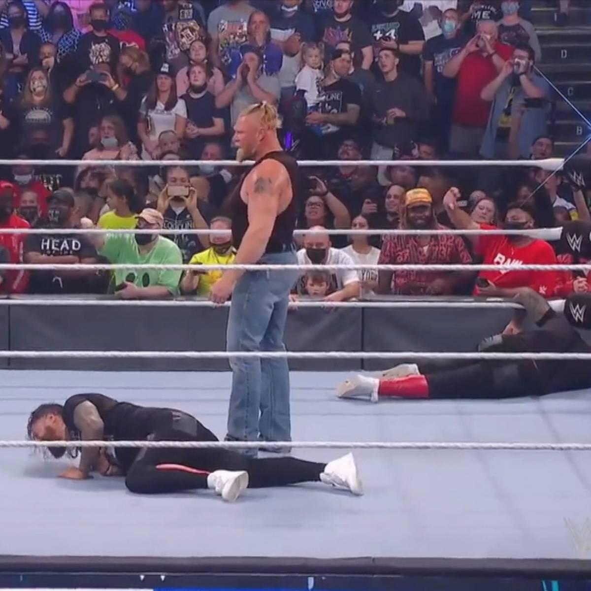 Lesnar zerstört WWE-Zwillinge - Reigns kneift