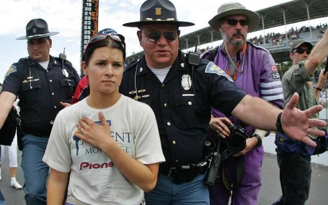 2005: Danica Patrick belegt beim Indy 500 für das Rahal-Team Platz vier