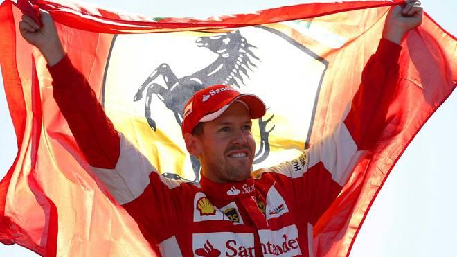 Sebastian Vettel genoß die Stimmung in Monza in vollen Zügen