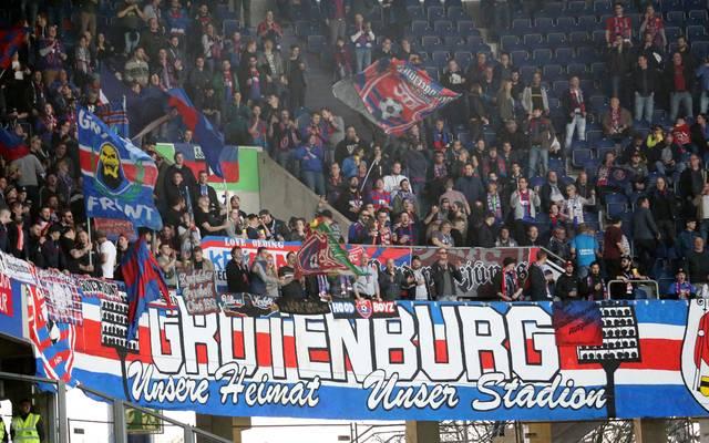 Weil die Grotenburg nicht drittligatauglich ist, musste der KFC Uerdingen nach Duisburg ausweichen
