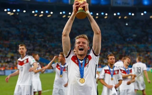 Andre Schürrle gewann 2014 mit Deutschland die Weltmeisterschaft in Brasilien