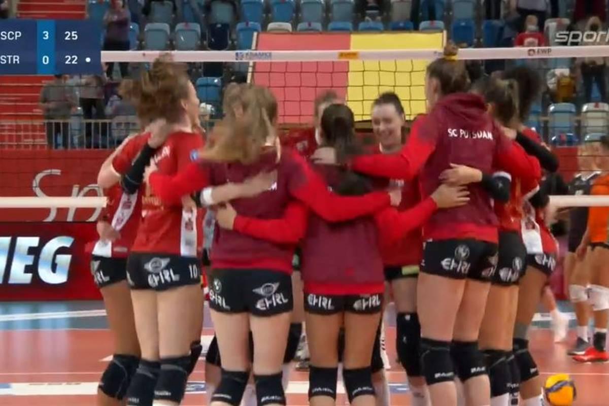 Im zweiten Spiel in der Volleyball-Bundesliga der Frauen gelingt dem SC Potsdam der zweite Sieg. Gegen NawaRo Straubing lässt das Heimteam nichts anbrennen.