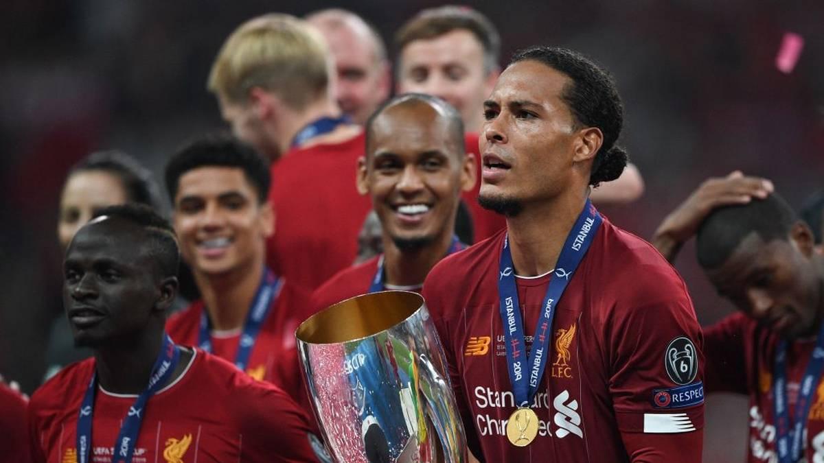Virgil Van Dijk gewann in dieser Saison mit Liverpool den europäischen Super-Cup