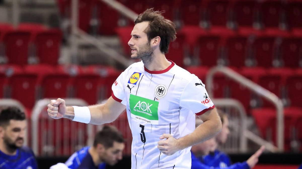 Uwe Gensheimer führt Deutschland bei der Handball-WM als Kapitän an