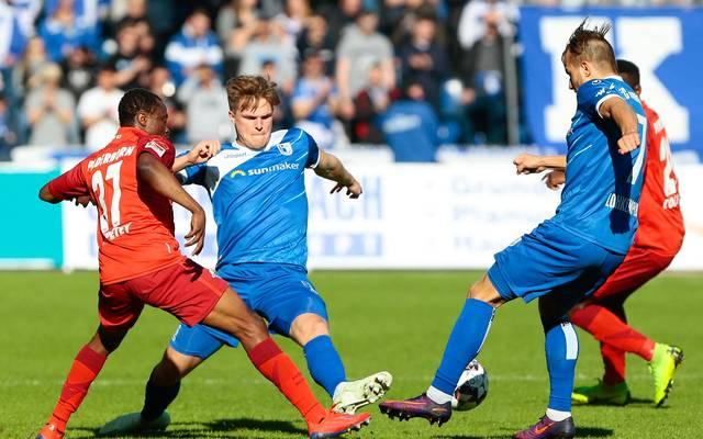 Der 1. FC Magdeburg lieferte dem SC Paderborn einen harten Kampf