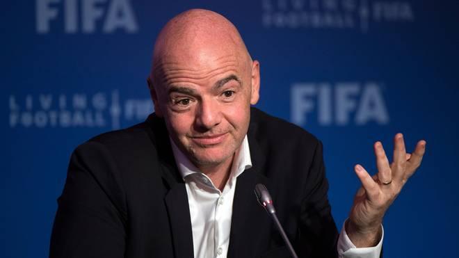 Gianni Infantino ist Präsident der FIFA