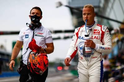 Nikita Mazepin sorgt einmal mehr für Aufsehen: Im Qualifying von Monza gerät er mit Robert Kubica aneinander.