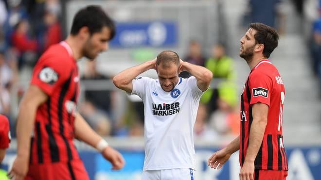 SV Wehen Wiesbaden v Karlsruher SC - 3. Liga