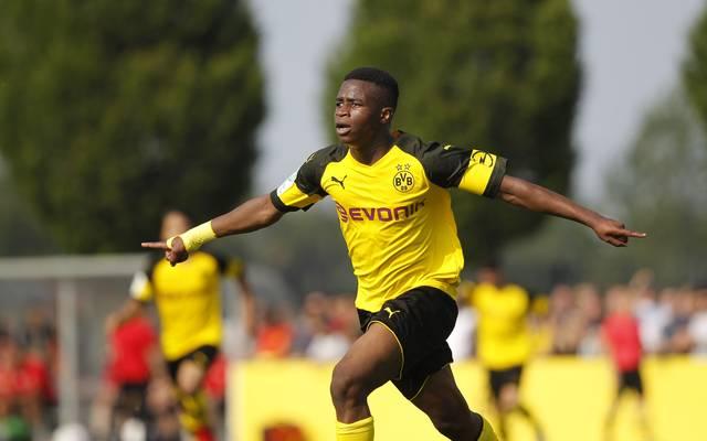 Youssoufa Moukoko hat gleich am 1. Spieltag für die U19 des BVB sechs Tore erzielt