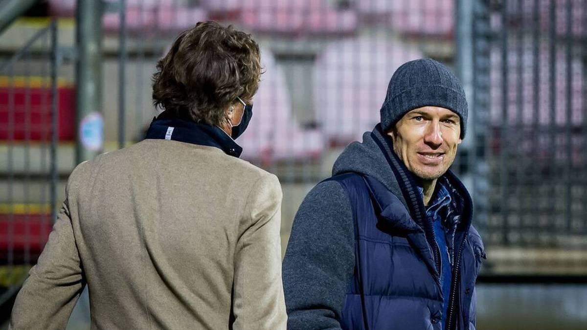 """Robben: """"Meine Karriere ist vorbei"""""""