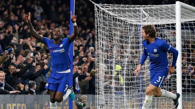 Antonio Rüdiger (l.) erlöste den FC Chelsea mit seinem Siegtor gegen Swansea City