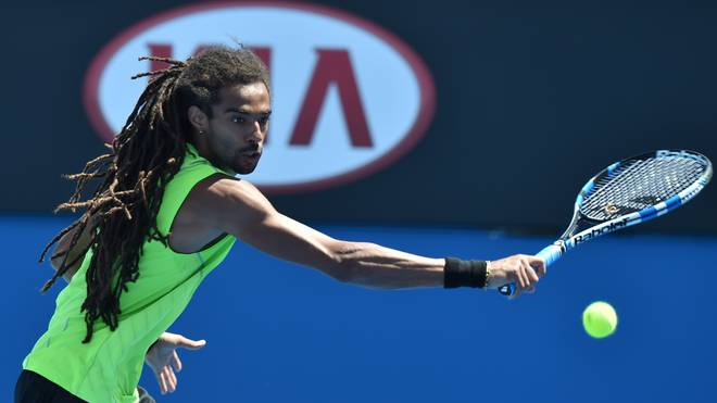 TENNIS-AUS-OPEN, Dustin Brown, Australian Open