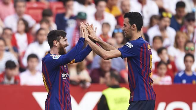 Lionel Messi erkannte früh die Bedeutung von Sergio Busquets für den FC Barcelona
