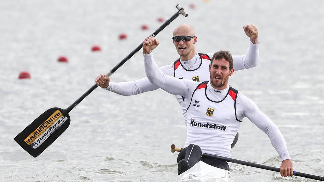 Sebastian Brendel und Tim Hecker fahren zur Gold-Medaille