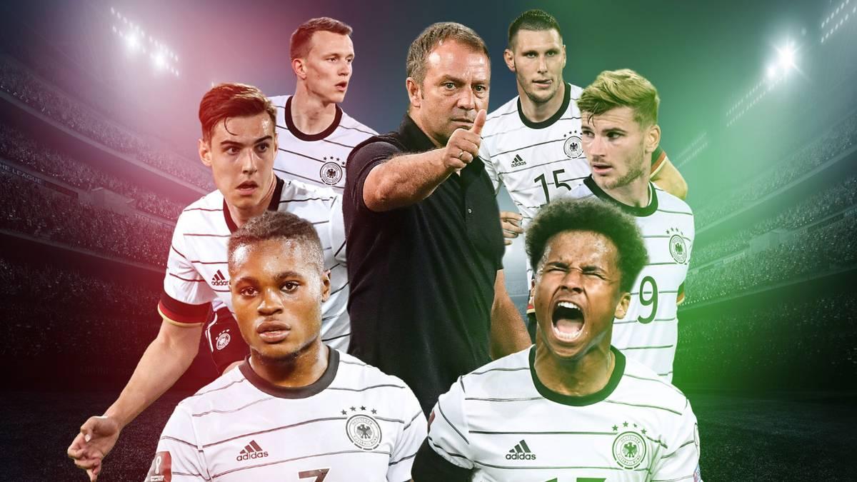 Flicks erste DFB-Woche hat fünf Verlierer