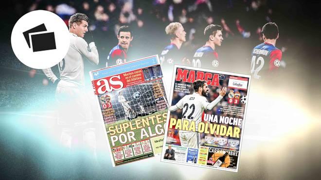 Spaniens Presse geht mit Real Madrid nach der Pleite gegen ZSKA Moskau hart ins Gericht