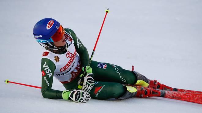 Mikaela Shiffrin sicherte sich bei der Ski-WM in Are Gold im Slalom