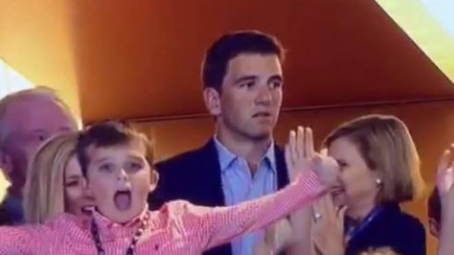 Eli Manning Peyton Manning Super Bowl