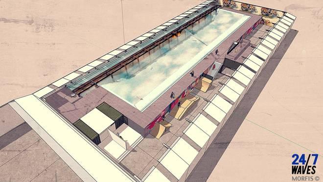 Neuer Indoor-Wavepool in den Niederlanden