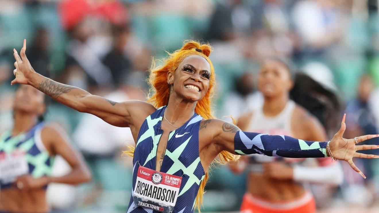 US-Topsprinterin Richardson für Olympia qualifiziert